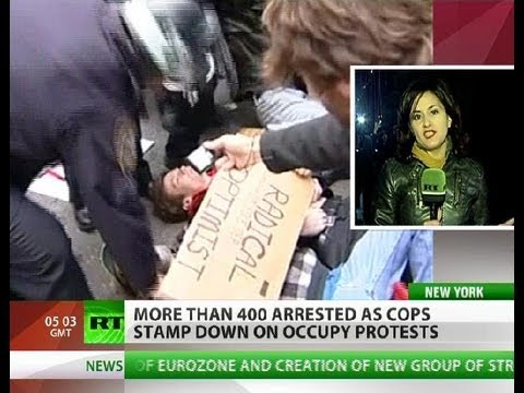 Day of OWS Action: Over 400 arrested, dozens injured