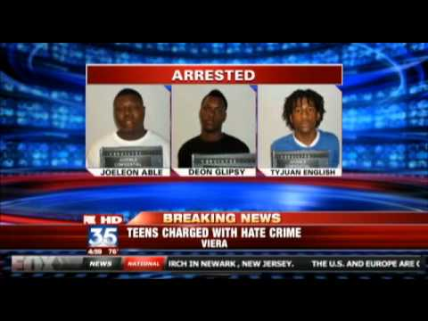 Hate crime: Racist Black youths beat up White boy at school bus stop