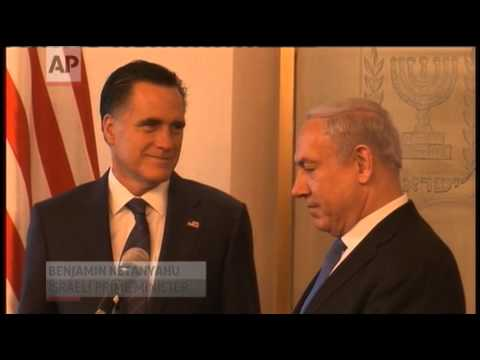 In Israel, Mitt Romney Stops at Jewish Holy Site