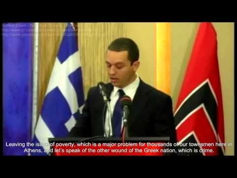 Kasidiaris Presents His Program for the City of Athens
