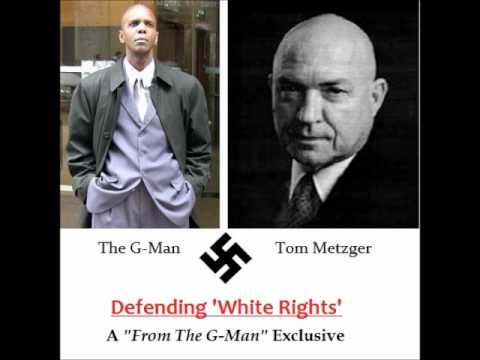 "Tom Metzger - ""Non-Whites, Get Out While You Can!"""