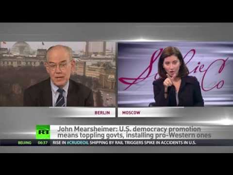 Mearsheimer: US democracy promotion means toppling govts