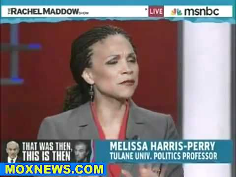 Dyke Rachel Maddow - Goes for the Ron Paul jugular