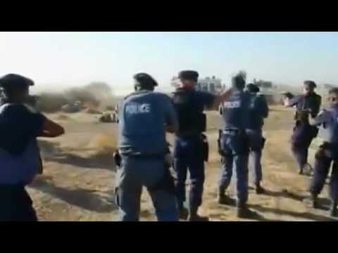 South africa killing field for strickers by police