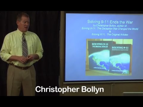 "Christopher Bollyn 2015 ""Solving 911 Ends the War"""