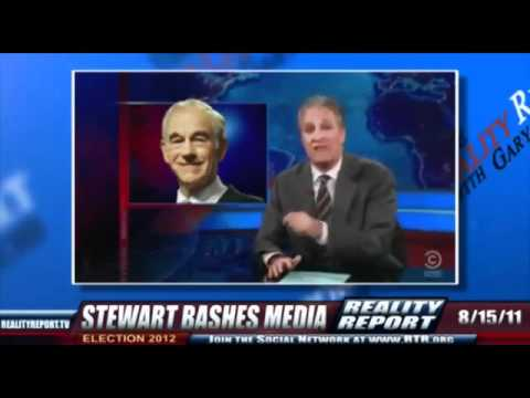 JOHN STEWART COVERS Ron Paul's Ridiculous Media Coverup