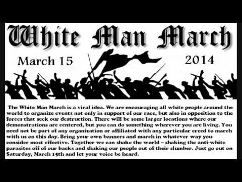 What is the White Man March?