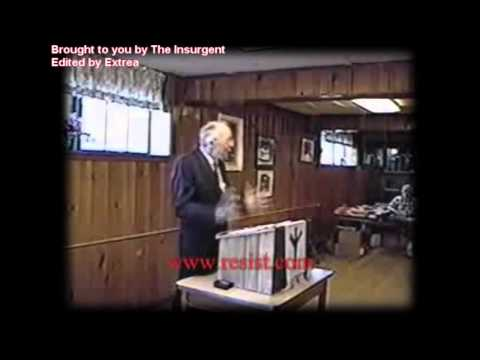 Dr. William Pierce addresses the National Alliance - Part 1/2