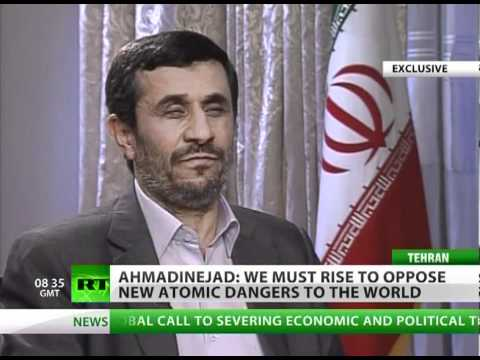 Ahmadinejad to RT: Europe, US need freedom most of all (Exclusive Interview)