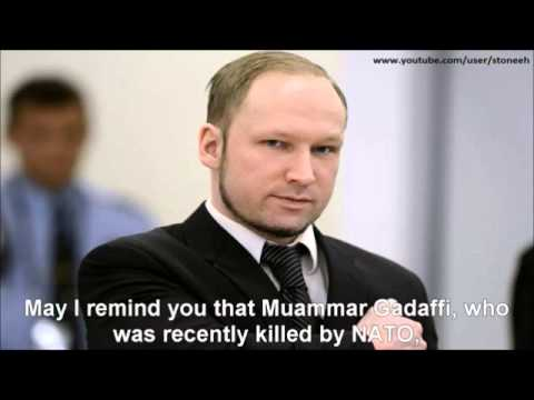 Anders Behring Breivik closing statements to the court