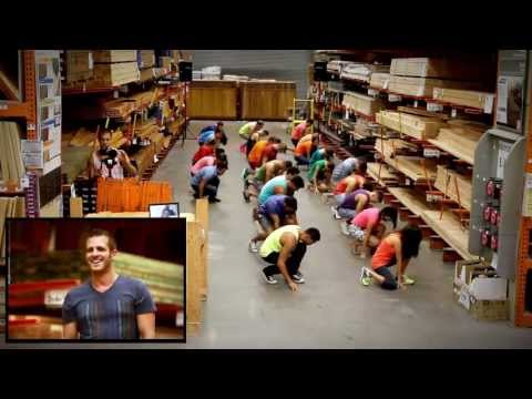 "Queer uses a ""flashmob"" to ""propose"" to another queer at Home Depot"