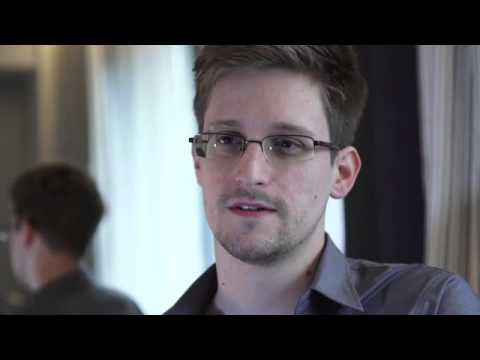 Edward Snowden NSA Info leak interview