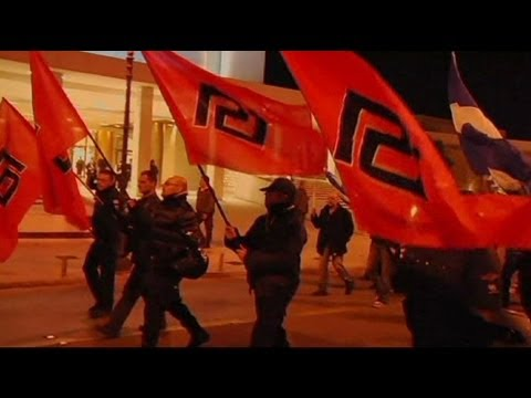 Thousands of Greeks join nationalist Golden Dawn rally