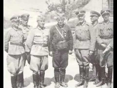 Russisches Schutzkorps Serbien - Russian Security Corpus in Serbia ( 1941-1945)