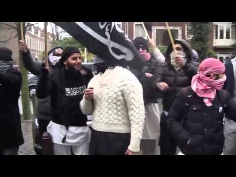 On the 26 december Djihadists in Netherland showed up their hate for Nedherlanders