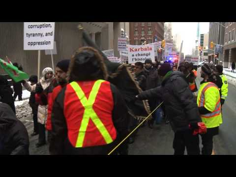 Ottawa djihadists show up their hate for Canada on the 25/DEC/2013