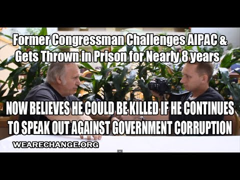 Congressman Takes on AIPAC and Gets Thrown in Prison